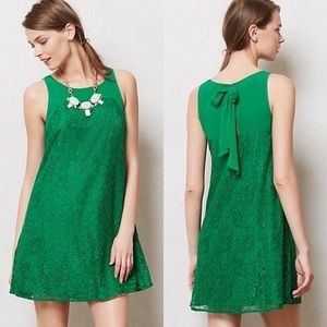 Anthro Leifsdottir Jadeite Dress